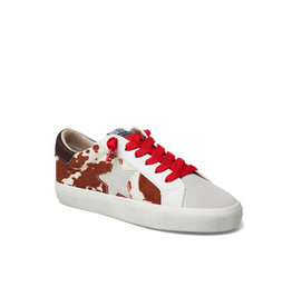 Vintage Havana Houston Cowhide Red Laces
