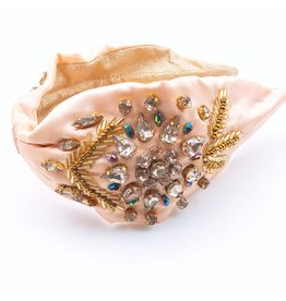 Treasure Jewels Headband - Nude Crystal