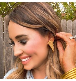 Treasure Jewels Angel Wing Earring - Med