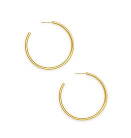 Kendra Scott Selena Vintage Gold Hoop Earring