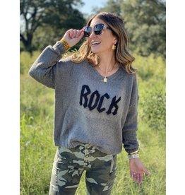 Charcoal Rock Sweater
