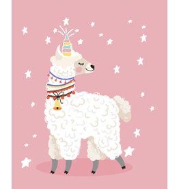 Pink Picasso Llama Paint by Number Kit