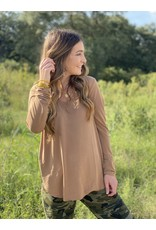 Another Love Lilah Top in Latte