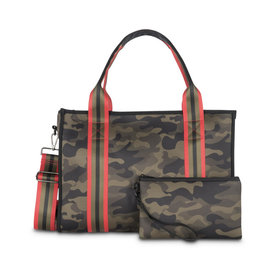 Haute Shore Isla Tote in Soho Green Camo