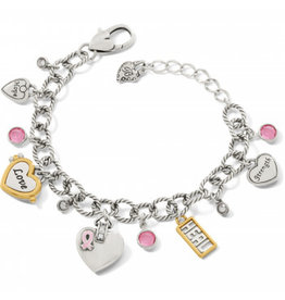 Brighton Power of Pink 2020 Bracelet Silver-Pink OS