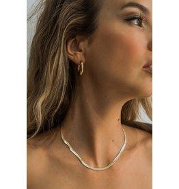 Brenda Grands Snake Necklace