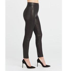 Spanx Leather Like Skinny-Reg Noir