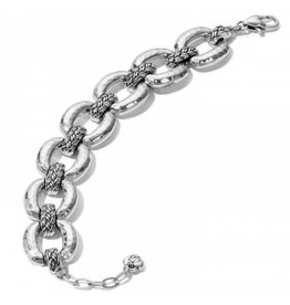 Brighton Interlok Woven Link Bracelet