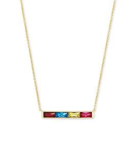 Kendra Scott Jack Short Necklace Gold Jewel Tone Mix