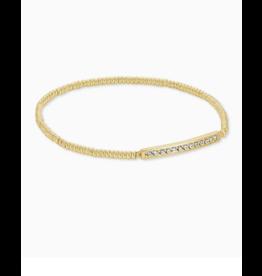 Kendra Scott Addison Stretch Bracelet Gold