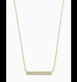 Kendra Scott Addison Gold Choker Necklace