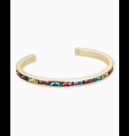 Kendra Scott Jack Cuff Bracelet Gold Jewel Tone Mix