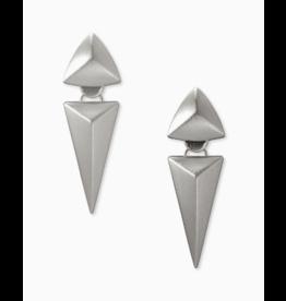 Kendra Scott Vivian Statement Earring in Silver Metal