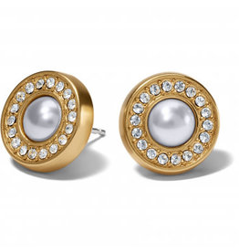 Brighton Gold Meridian Pearl Post Earring