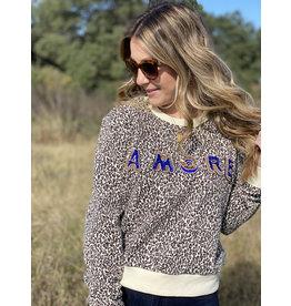 Leopard Amore Sweatshirt