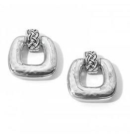 Brighton Interlok Woven Post Earrings