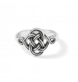 Brighton Interlok Knot Ring- 6