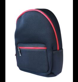 Haute Shore Alex Backpack Black w Red Zipper