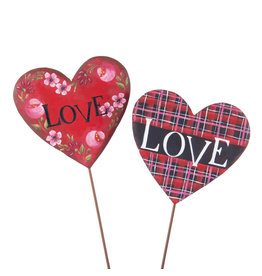 Love Heart Stake