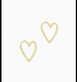 Kendra Scott Ansley Sm. Hoop Earring Gold
