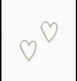 Kendra Scott Ansley Sm. Hoop Earring Silver