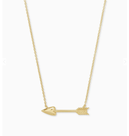 Kendra Scott Zoey Pendant Necklace Gold