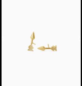 Kendra Scott Zoey Stud Earring Gold