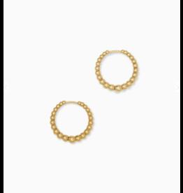 Kendra Scott Josie Huggie Earring Vintage Gold