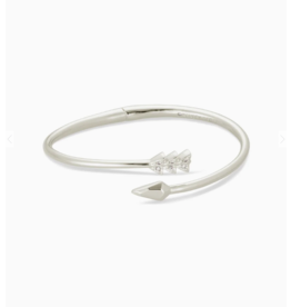 Kendra Scott Zoey Bangle Bracelet Silver