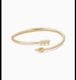 Kendra Scott Zoey Bangle Bracelet Gold