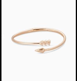 Kendra Scott Zoey Bangle Bracelet Rose Gold