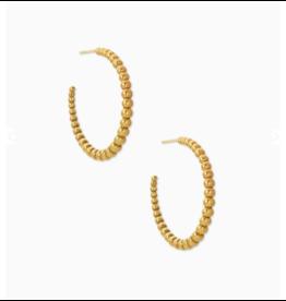 Kendra Scott Josie Hoop Earring Vintage Gold