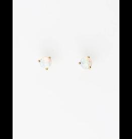 Brenda Grands Opal Studs