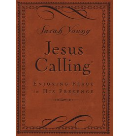 Jesus Calling Enjoying Peace in His Presence Brown Cover