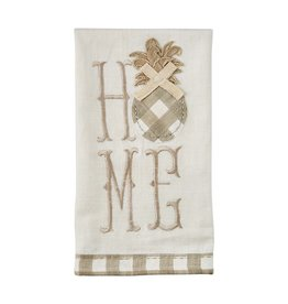Home Embroidered Pineapple Towel
