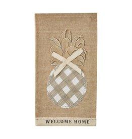 Welcome Home Pineapple Towel