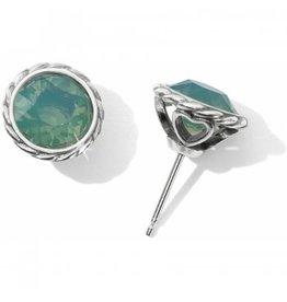 Brighton Pacific Opal Iris Stud Earrings