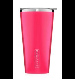 BruMate Imperial Pint 20oz Neon Pink