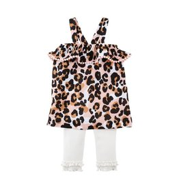 Kids Leopard Tunic and Capri Set