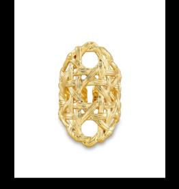 Kendra Scott Kendra Scott Natalie Cocktail Ring Gold