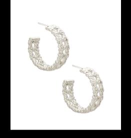Kendra Scott Natalie Hoop Earring Silver