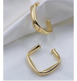Treasure Jewels Ester Gold Hoop Earrings