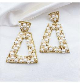 Treasure Jewels Penelope Pearl Earrings