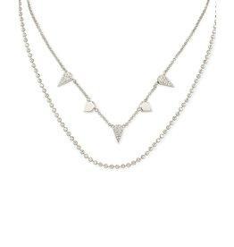 Kendra Scott Silver Demi Multi Strand Necklace