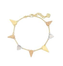 Kendra Scott Demi Link Bracelet Mixed Metals