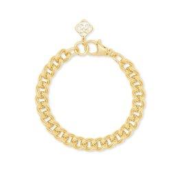 Kendra Scott Vincent Chain Bracelet - S/M Gold