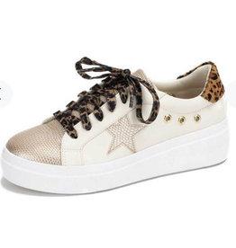 Yellow Box Elepsis Leopard Sneakers