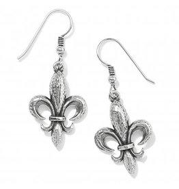 Brighton Ferrara Fleur De Lis French Wire Earrings