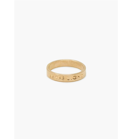 Able Gold Beam Ring