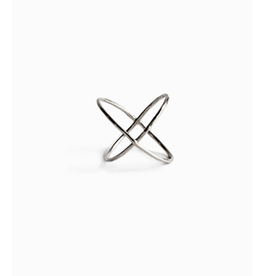 Able Silver X Ring